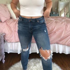 H&M Divided Mom Jeans!